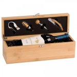 Single Wine Box With Tools -Bamboo Secretary Gift Awards