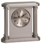Silver 4-Column Plastic Clock Award Secretary Gift Awards