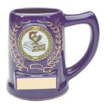 Blue Ceramic Mug Secretary Gift Awards