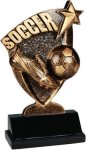 Broadcast Resin -Soccer Soccer Trophy Awards