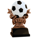 Ribbon Resin -Soccer Soccer Trophy Awards