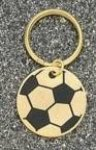 Soccer Ball Key Ring Soccer Trophy Awards
