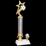 Gold Star Trophy -Soccer Soccer Trophy Awards