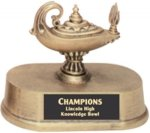 Education - Gold Resin Trophy Sports Figure Resin Trophies