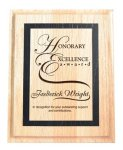 Wood Plaques Square Rectangle Awards