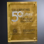 Gold Alloy Plaque Square Rectangle Awards