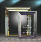 Cove Edge Plaque Square Rectangle Awards
