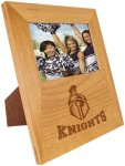 Genuine Red Alder 4x6 Picture Frame with Engraving Area Square Rectangle Awards
