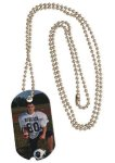 Aluminum Notched Dog Tag Street Tag Gifts