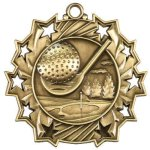 Ten Star Medal -Golf Ten Star Medal Awards