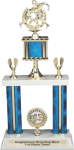 2 Tier 2 Column Trophy Two Columns & Larger Trophy Styles