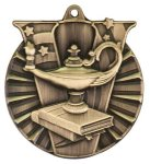 Victory Medal -Lamp of Knowledge Victory Medallion Awards