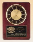 Rosewood Piano Finish Vertical Wall Clock Wall Clock Plaques