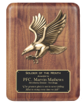 Walnut Eagle Plaque Winner's Choice Catalog