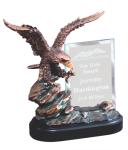 Eagle On Rock With Glass Winner's Choice Catalog