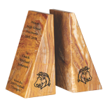 Tan Marble Bookends Set Winner's Choice Catalog