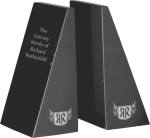Black Marble Bookends Set Winner's Choice Catalog