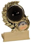 Bowling Spinning Trophy Wreath Awards