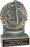 Music - Wreath Resin Trophy Wreath Resin Trophies