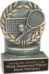Tennis - Wreath Resin Trophy Wreath Resin Trophies