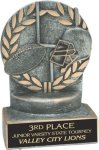 Football - Wreath Resin Trophy Wreath Resin Trophies