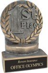 1st Place - Wreath Resin Trophy Wreath Resin Trophies