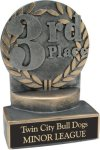 3rd Place - Wreath Resin Trophy Wreath Resin Trophies