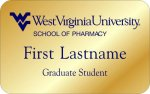 School of Pharmacy - Graduate Student WVU Nametags