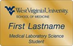 Medical Laboratory Science WVU Nametags