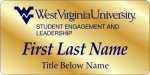 Student Engagement WVU Nametags